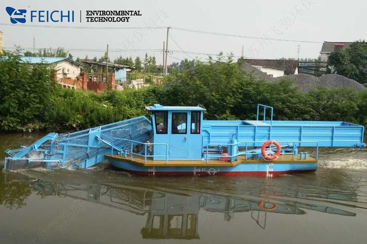 前收前卸式全自动清漂船-FCQX7-4C